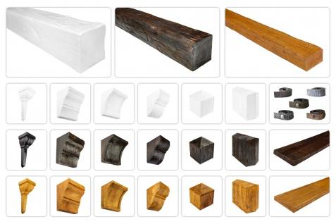Balken und Zubehör Modern für Decke & Wand - Holzimitat Verkleidung, Deco Wood