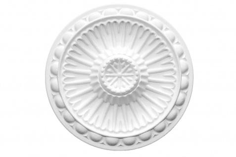 1 Rosette | Decke Stuck Innendekor EPS Dekor Marbet Durchmesser 28cm R-16