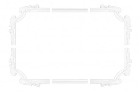 Wand- und Deckenumrandung   Fries   Stuck   Rahmen   stoßfest   AD411