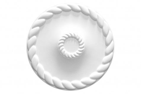 1 Rosette | Decke Stuck Innendekor EPS Dekor Marbet Durchmesser 60cm R-22