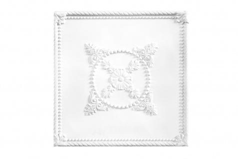 1 Stück - Deckenplatte PU stoßfest - Perfect - 61x61cm B4014
