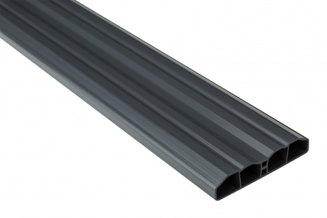 Zaunlatten Sparpaket | PVC | Gartenzaun | Balkonbretter | graphit | PZL-31