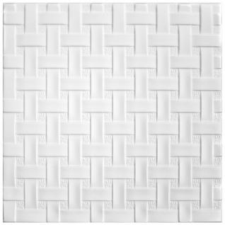 1 qm Deckenplatten Styroporplatten Stuck Decke Dekor Platten 50x50cm