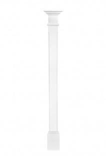 Pilaster 180x90mm   Wandreliefe Stuckdekor aus PU - stoßfest   Perfect D1509