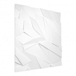 3D Paneele Sparpaket | Styroporplatten | Wandverkleidung | EPS | 60x60cm | Szafir