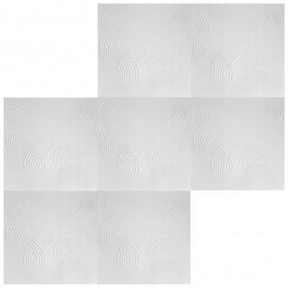 1 qm Deckenplatten Polystyrolplatten Stuck Decke Dekor Platten 50x50cm Nr.84 - Vorschau 3