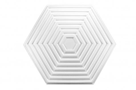 1 Rosette | Decke Stuck Innendekor EPS Dekor Marbet 643x557mm R-32