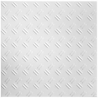 1 qm Deckenplatten Polystyrolplatten Stuck Decke Dekor Platten 50x50cm Nr.58
