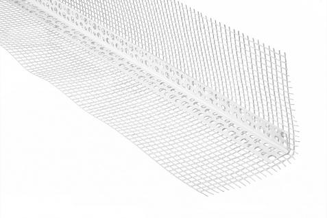 Winkelprofil Armierungsgewebe Kantenschutz PVC versch. Größen PT, 2 Meter