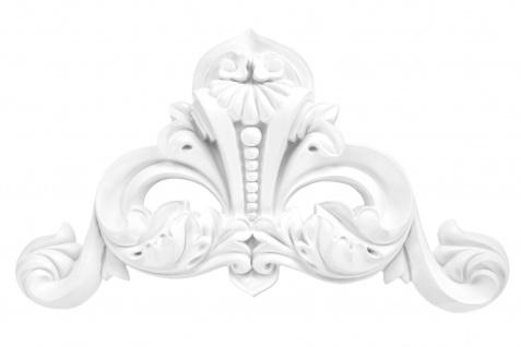 1 Ornament Dekorelement PU Stuckdekor Innen Wanddekor stoßfest 225x416mm, A629A