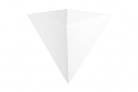 1 LED Wandleuchte | PU | Dekor | stoßfest | Tesori | 128x156mm | KS801
