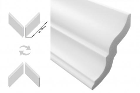 Stuckleisten inkl. Ecken |XPS | stabil | Marbet | 80x87 | E-10-NK