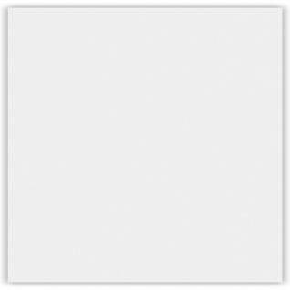 1 PVC Platte   Rasterdecke   weiß foliert   wasserfest   62x62cm   Hexim   YDB007