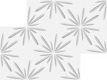 1 qm 3D Platten Natur Stuck ökologisch Paneele 3D Elite Panels 50x50cm Elijah - Vorschau 3