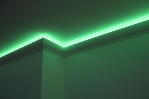 2 Meter | LED Profil | PU | stoßfest | Hexim | 130x100mm | LED-6 - Vorschau 4