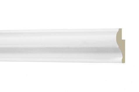2 Meter Fensterumrandung Profil Stuck Dekor PU stoßfest Hexim Perfect 30x20mm AD 405