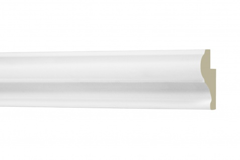 2M Umrandung 30x20mm - Stuckleiste aus PU glatt, stoßfest - Perfect AD405