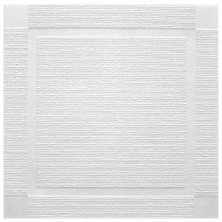 Sparpaket Deckenplatten Polystyrolplatten Decke weiß Dekor Platten 50x50cm Atlanta - Vorschau 1