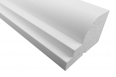 Fassade | Profile mit Ausprägung | EPS | PU |stoßfest |125x180mm | MC169