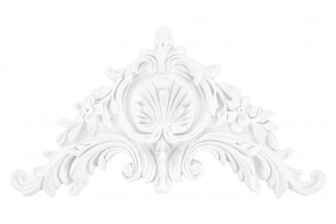 1 Ornament Dekorelement PU Stuckdekor Innen Wanddekor stoßfest 155x290mm, A621