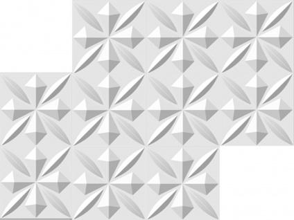1 qm 3D Platten Natur Stuck ökologisch Paneele 3D Elite Panels 50x50cm Sherlock - Vorschau 3