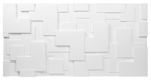Sparpaket 3D Paneele Wandverkleidung Wandplatten formfest Marbet 96x48cm PD-2