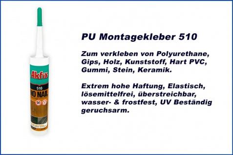 Montagekleber Polyurethane Baukleber hohe Haftung ProLoc Sparpaket Akfix 510 - Vorschau 5