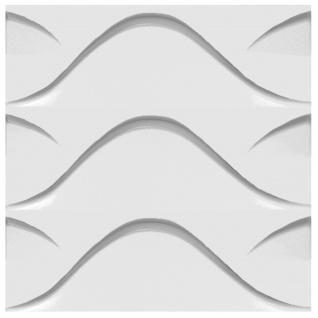 3D Paneele PS Platten Wand Decke Verkleidung Wandplatten Sparpaket 50x50cm Hexim Stock