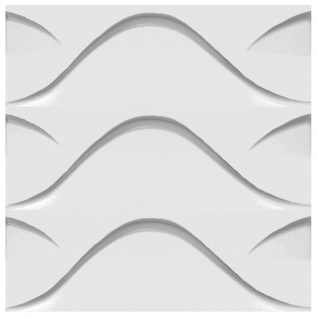3D Paneele Sparpaket | Styroporplatten | Wandverkleidung | EPS | 50x50cm | Stock