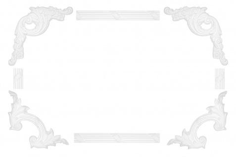 Wand- und Deckenumrandung   Fries   Stuck   Rahmen   stoßfest   AC290
