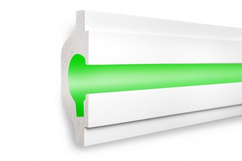 1, 15 Meter LED Profil XPS Stuck Trockenbau Tesori 165x70mm KD119
