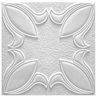 1 qm Deckenplatten Polystyrolplatten Stuck Decke Dekor Platten 50x50cm Irys