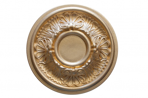 1 Rosette | Decke Stuck Innendekor EPS Dekor Marbet Durchmesser 28cm R-17 - Vorschau 4