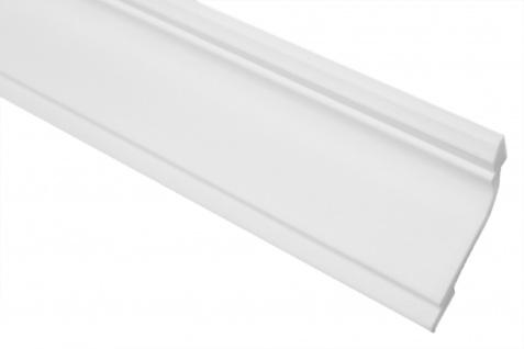 2 Meter Stuckleiste XPS Zierprofil Eckleiste stabil Marbet 45x67mm E-35 - Vorschau 1
