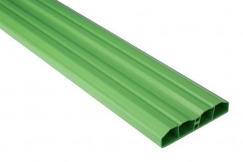 Zaunlatten Sparpaket | PVC | Gartenzaun | Balkonbretter | grün | PZL-16
