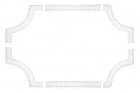 Wand- und Deckenumrandung   Fries   Stuck   Rahmen   stoßfest   AC220