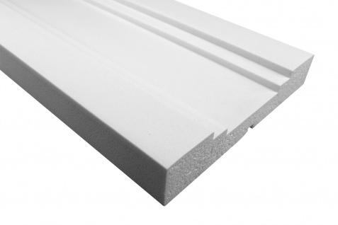 Fassade Außenstuck Gesims mit Ausprägung EPS PU stoßfest 50x290mm Sparpaket MC170