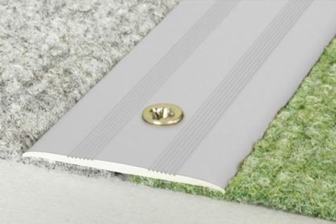 0, 93 Meter Übergangsleiste Aluminium Bodenleiste eloxiert rostfrei 35x2mm A08