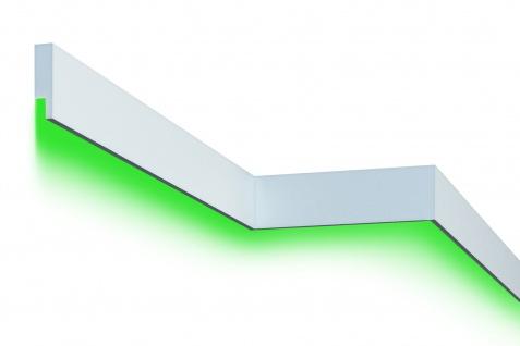 Fassadenleiste LED indirekte Beleuchtung stoßfest 30x110mm MC303