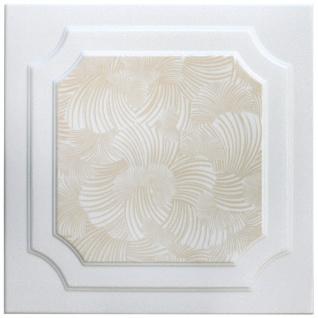 1 qm Deckenplatten Polystyrolplatten Stuck Decke Dekor Platten 50x50cm Nr.03 - Vorschau 5