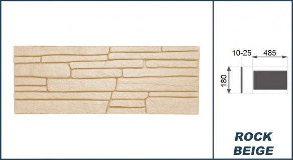1, 04 qm Dekorsteine | Steinoptik | Styroporplatten | Verblender | 48x18cm | Rock - Vorschau 4