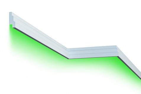 Fassadenleiste LED indirekte Beleuchtung stoßfest 35x85mm MC302