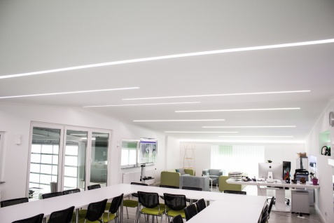 1, 15 Meter LED Leiste Trockenbau Stuckprofil Beleuchtung indirekt 120x55mm KD306 - Vorschau 4