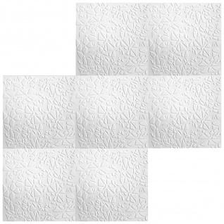 1 qm Deckengestaltung Polystyrolplatten Stuck Decke Dekor Platten 50x50cm, Nr.110 - Vorschau 3