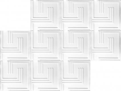1 qm 3D Platten Natur Stuck ökologisch Paneele 3D Elite Panels 60x60cm Dave - Vorschau 3