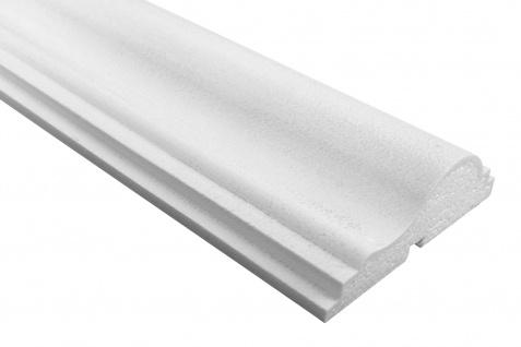 Fassade Außenstuck Gesims mit Ausprägung EPS PU stoßfest 50x150mm Sparpaket MC163