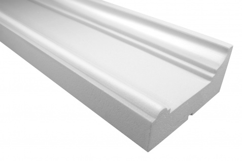 Fassadenprofile Gesimsprofile Dekorstuck stoßfest 103x220mm Sparpaket KC141