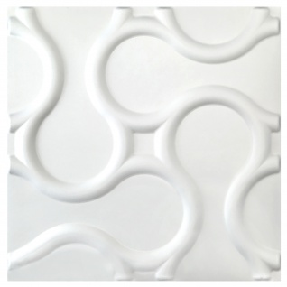 3D Platten | Natur | Stuck | Paneele | 60x60cm | Rattan