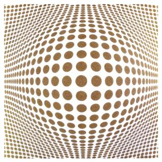 1 qm Deckenplatten Panorama Effekt XPS Deckenverkleidung 50x50cm Gold