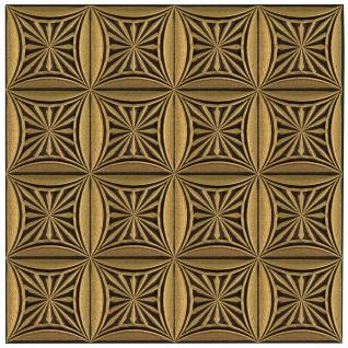 Sparpaket Deckenplatten Polystyrolplatten Decke Dekor Platten 50x50cm Nr.81 - Vorschau 5